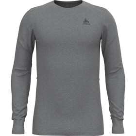 Odlo Active Warm Eco Crew Neck Longsleeve Heren, grey melange